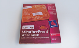 WeatherProofLabels